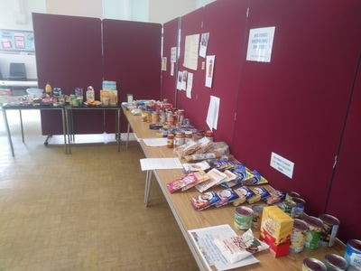 Basics Food Bank Wishaw